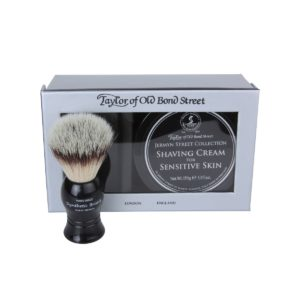 00208 Jermyn Brush out 300x300 - Jermyn Street Collection For Sensitive Skin Badger Brush and Shaving Cream - 00208