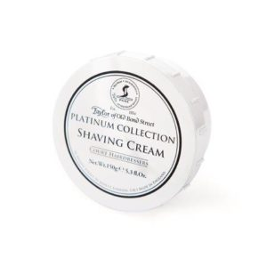 01000 1 300x300 - Taylor Of Old Bond Street Platinum Shaving Cream Bowl 150G - 01000