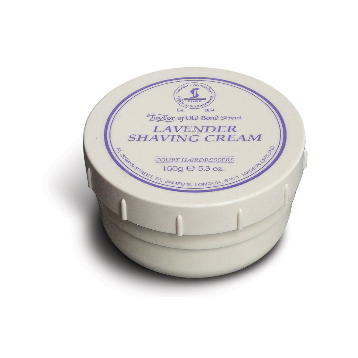 01003 Lavender - Taylor Of Old Bond Street Lavender Shaving Cream Bowl 150G - 01003