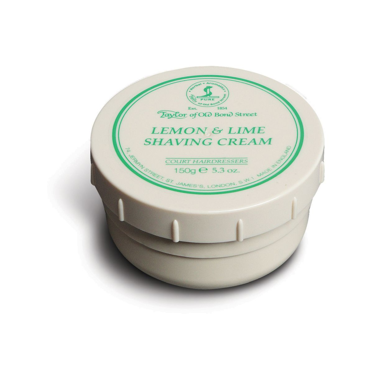 01005 Lemon and Lime - Taylor Of Old Bond Street Lemon & Lime Shaving Cream Bowl 150G - 01005