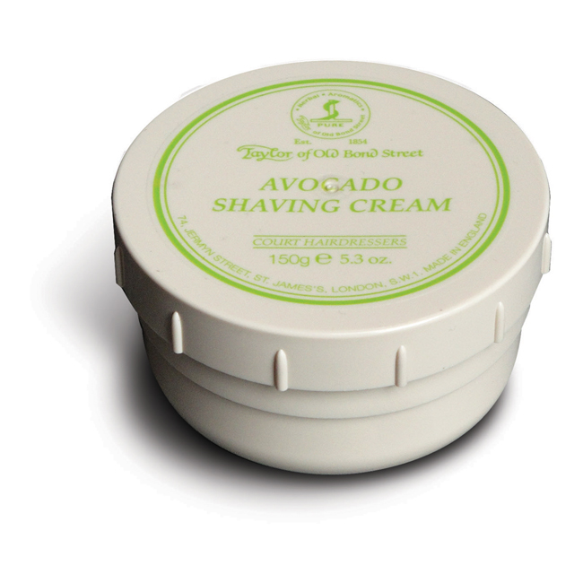 01006 Avocado - Taylor Of Old Bond Street Avocado Shaving Cream Bowl 150G - 01006