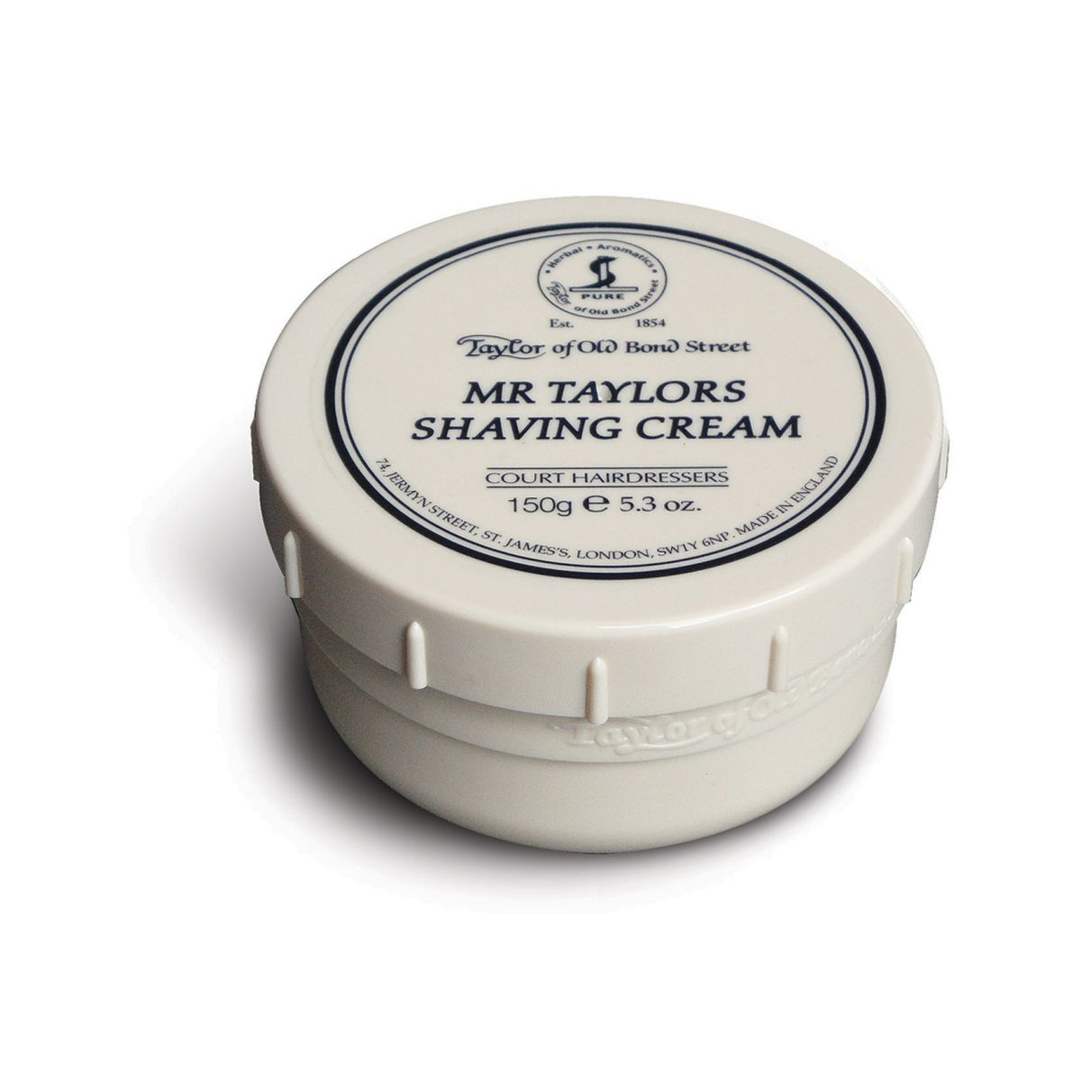 01008 Mr Taylor - Taylor Of Old Bond Street Mr Taylor Shaving Cream Bowl 150G - 01008
