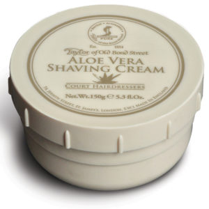 01011 Aloe Vera 300x300 - Taylor Of Old Bond Street Aloe Vera Shaving Cream Bowl 150G - 01011