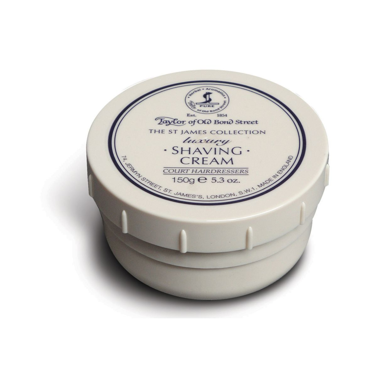 01015 St James 1 - Taylor Of Old Bond Street St James Shaving Cream Bowl 150G - 01015