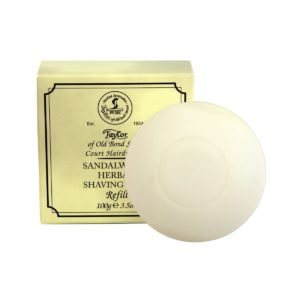 01051 New 2015 300x300 - Taylor Of Old Bond Street Sandalwood Soap Refill - 01051