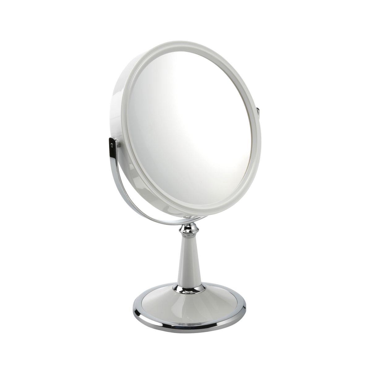 1009 20 WHX10 1 - Mia' 10x Magnification Pedestal Mirror - 100920W