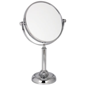 1021 15 Mid Chrome 10 x 300x300 - 10x Magnification Chrome Pedestal Mirror - 1021/15CHR