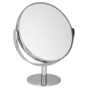 1030 25 Large Chrome 300x300 - 10x Magnification Pedestal Mirror - 1030/25CHR