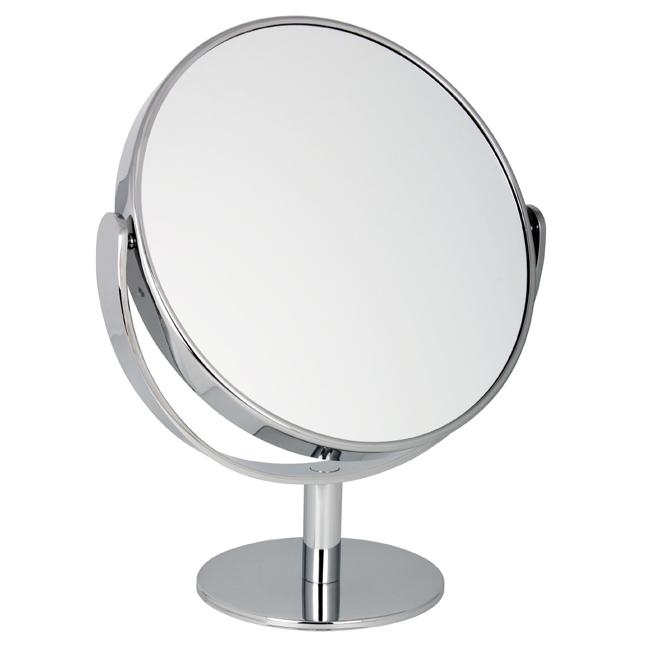 1030 25 Large Chrome - 10x Magnification Pedestal Mirror - 1030/25CHR