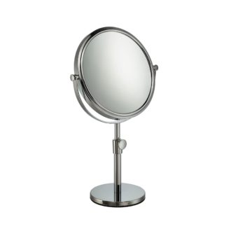 Mable' Adjustable Height Vanity/Bathroom Mirror 10x Magnification - 1056/19CH