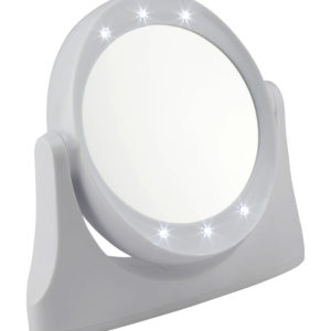 1081 white led 300x300 - White Led 10x Magnification Mirror - 1081WHITE
