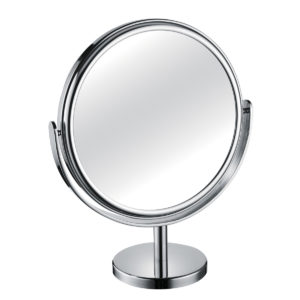 1200 330 30 chrome 300x300 - Mirror Pedestal Chrome Large Diameter 3x Magnification 'Tess' - 330/30CHR