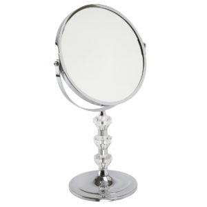 Chrome Pedestal Mirror 'Paige' - 5531/18CHR
