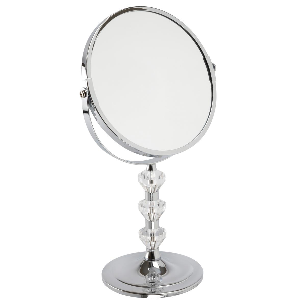 Chrome Pedestal Mirror 'Paige' - 5531/18CHR