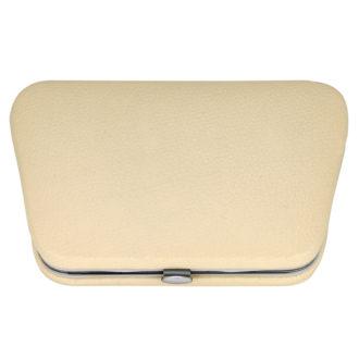 1213 beige 330x330 - Beige Manicure Set In A Chrome Edged Frame - 1213BEIGE
