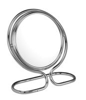 Chrome folding/travel/stand mirror 10x magnification 'May' - £30.95
