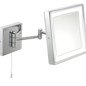 LED bathroom wall mirror that tilts