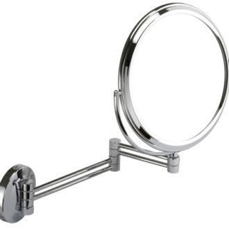 7x Magnification Chrome Shaving Mirror