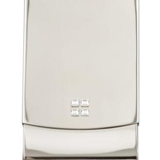 White Crystal Card Holder - CH155