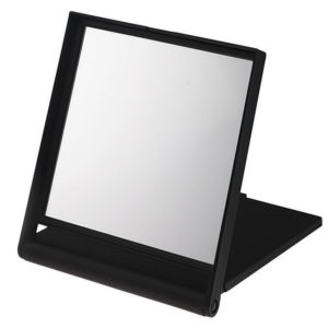 Black 5x Magnification Travel Mirror - 241/13B