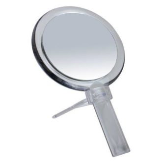 Clear 10x Magnification Hand/Stand Mirror - 328C