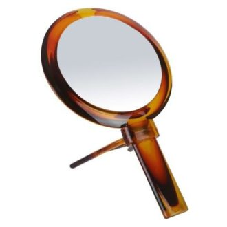 Tort 10x Magnification Hand/Stand Mirror - 329TORT
