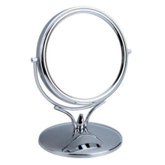 3500 15CHR 1 330x330 - Chrome Mini Pedestal Mirror - 3500/15CHR