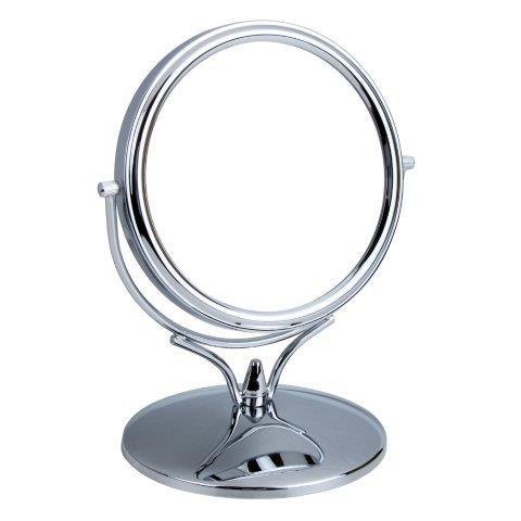 3500 15CHR 1 - Chrome Mini Pedestal Mirror - 3500/15CHR