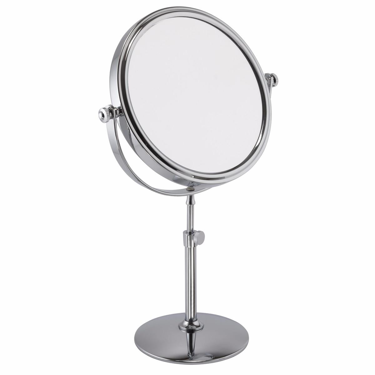 Adjustable 5x Magnification Chrome Mirror - 509/15CHR