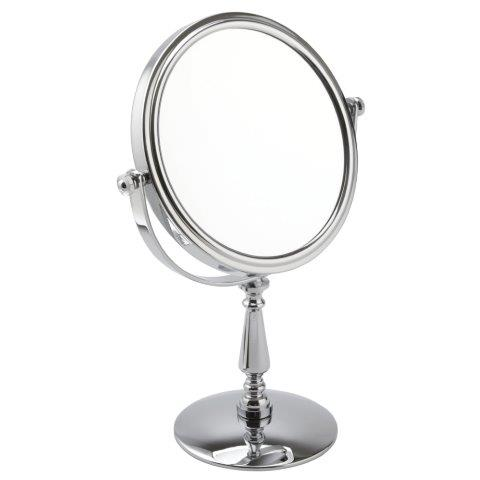 Chrome 5x Magnification Pedestal Mirror - 513/15CHR