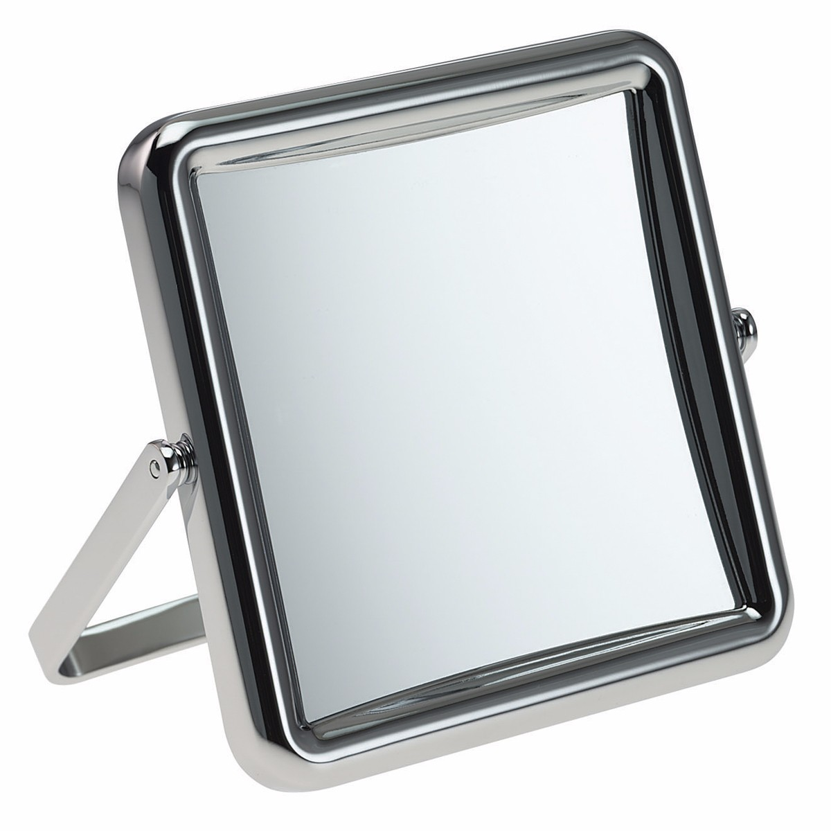 514 10 chr 0445 1 - Small Square 5x Magnification Travel Mirror By Fmg - 514/10CH