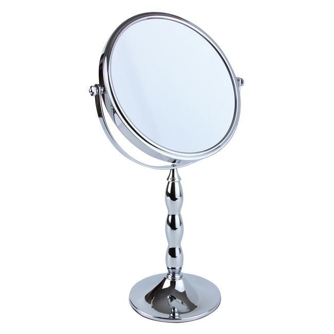 528 20 chrome 1 - Chrome 5x Magnification Pedestal Mirror - 528/20CHR