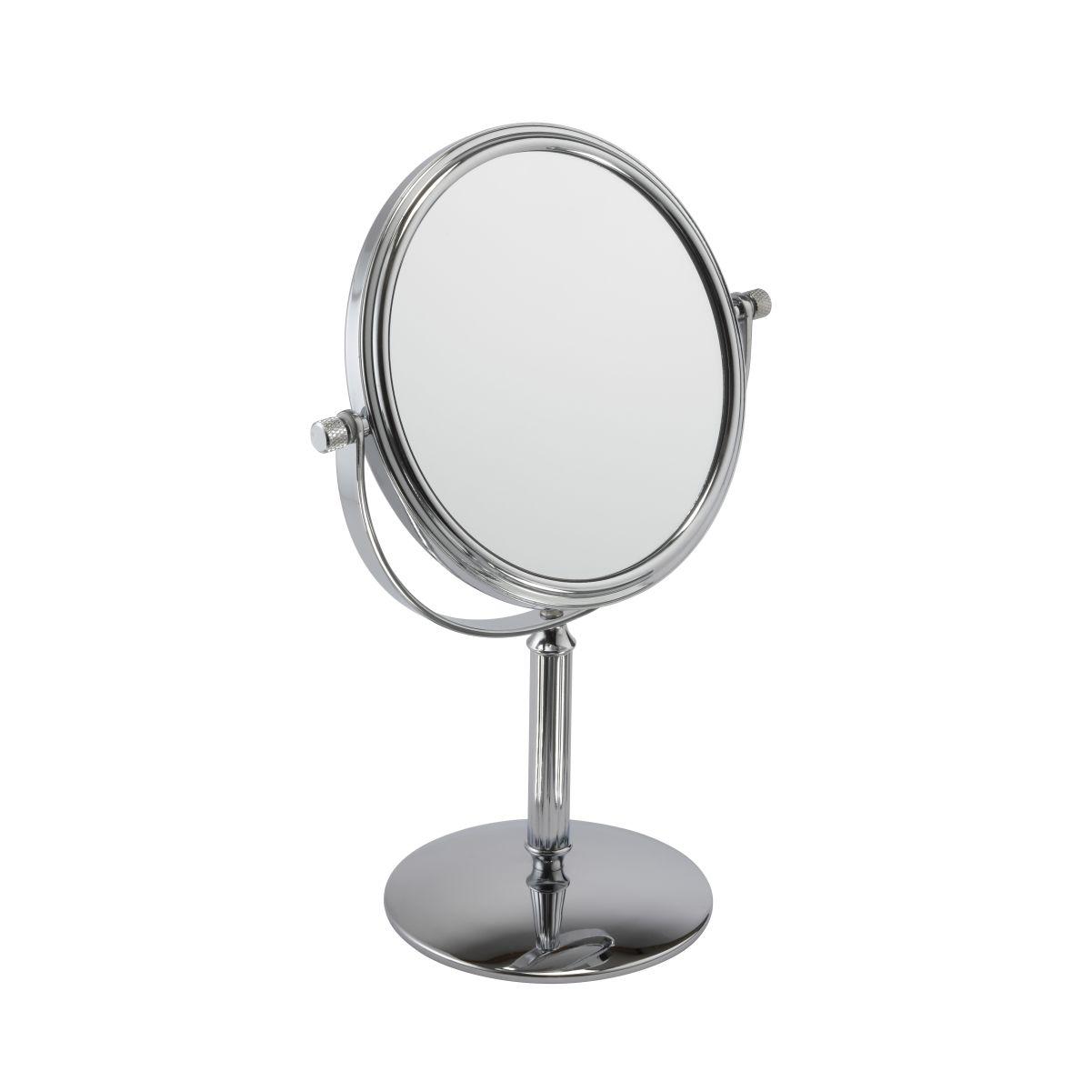 530 14 chrome 1 - Mirror Pedestal 5x Magnification 'Estelle' By Fmg - 530/14CHR