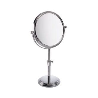 5x Magnification Large Diameter Height Adjustable Mirror 'Orla' - 537/25CHR