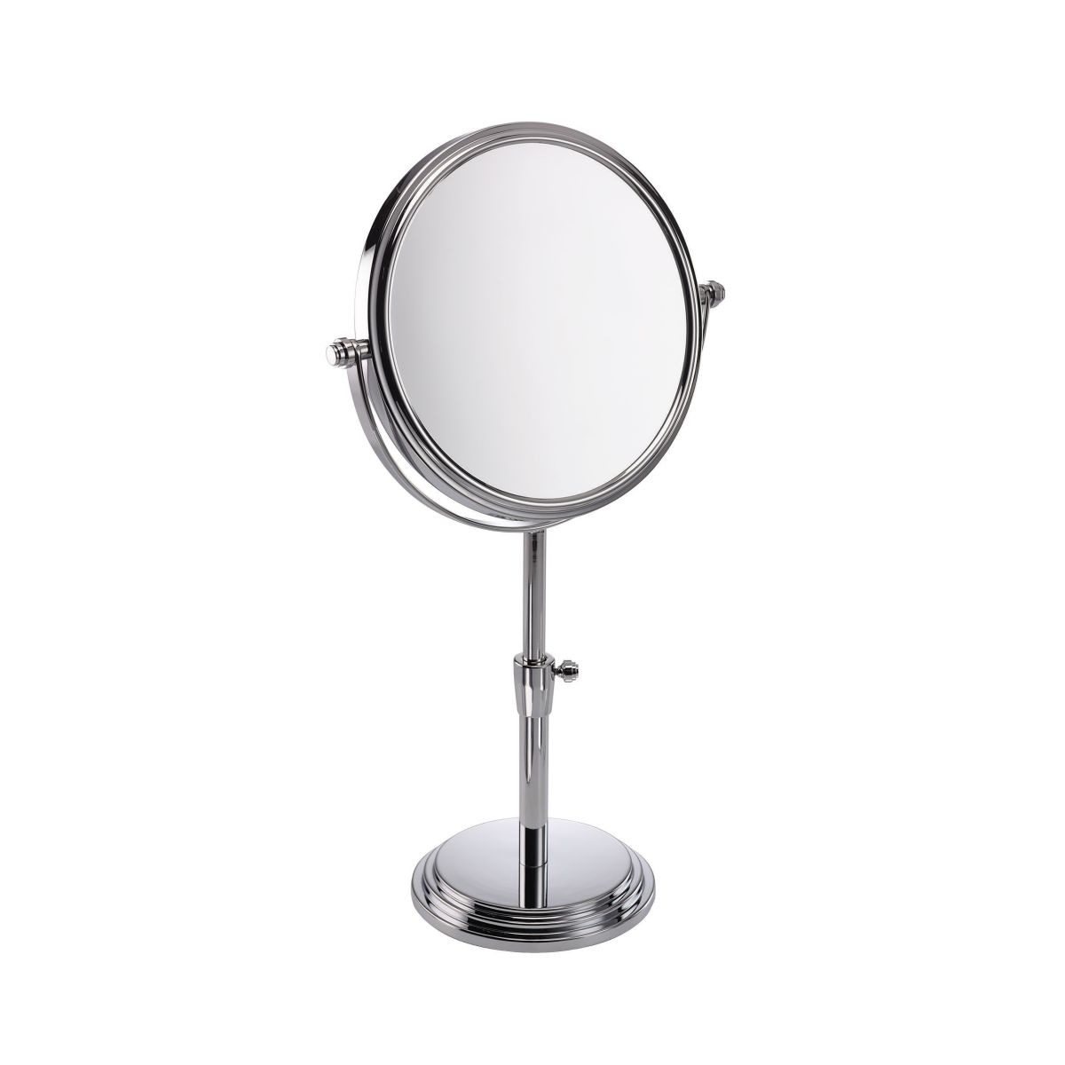 5x Large Diameter Height Adjustable Magnifying Mirror U0027Orlau0027 U2013 537 25