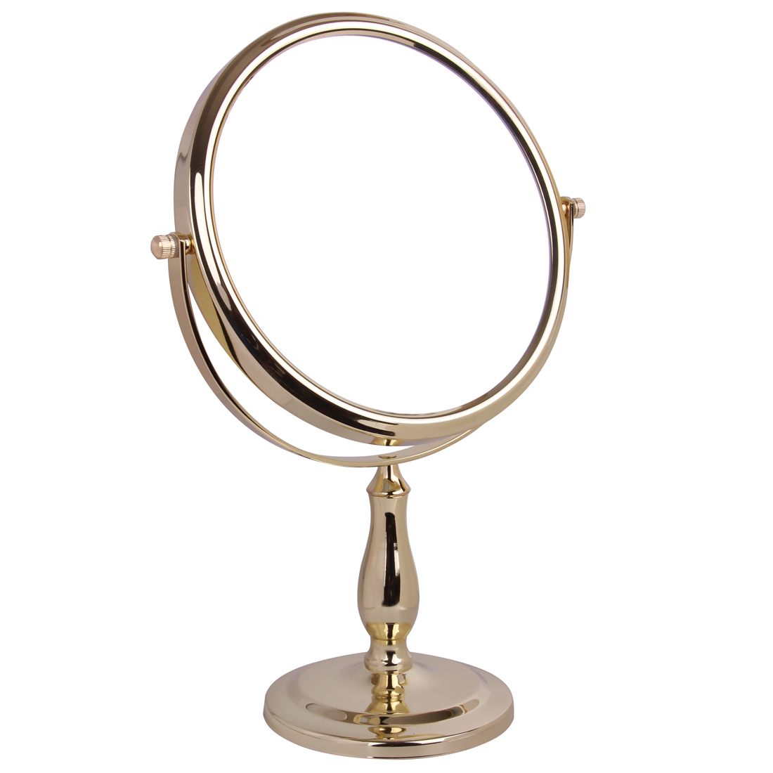 5x Magnification Pedestal Mirror - 5518/20GOLD