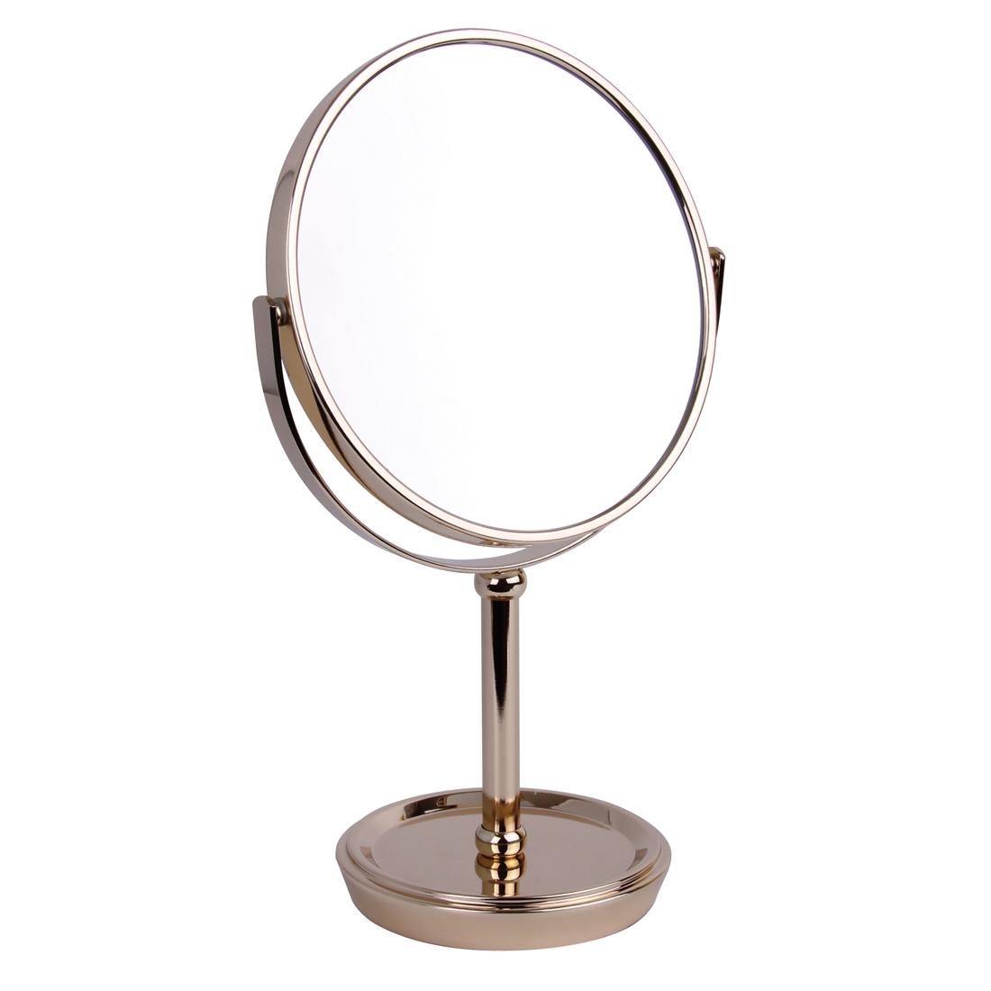 5519 17 gold - 5x Magnification Pedestal Mirror - 5519/17GOLD