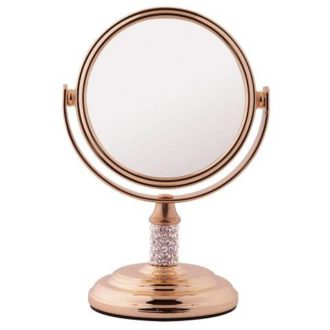 Rose Gold 5x Magnification Mini Mirror - 5532/8RG