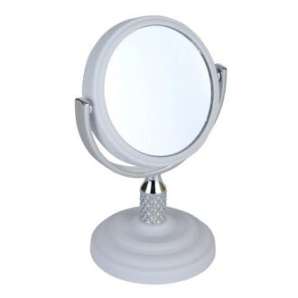 White 5x Magnification Mini Mirror - 5532/8WHITE