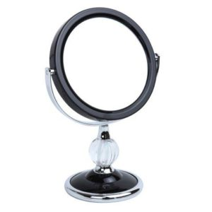 5x Magnification Pedestal Mirror - 5798/12BLK