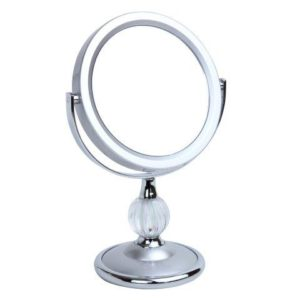 5x Magnification Pedestal Mirror - 5798/12SIL