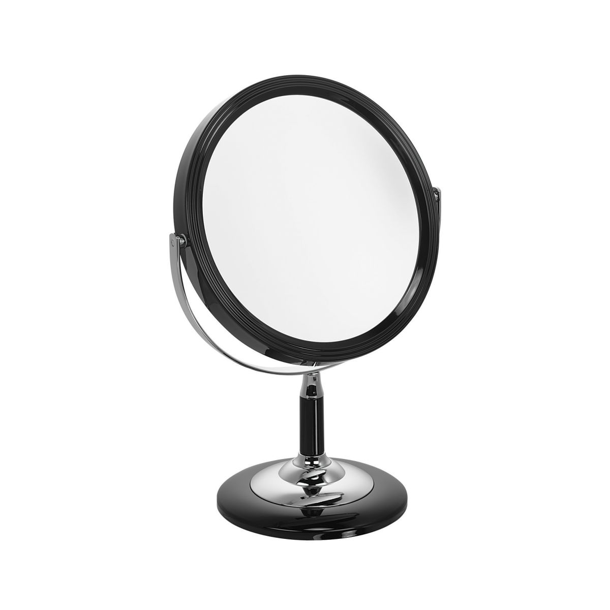 5802 18 blk 2 - Jet' Black 5x Magnification Mirror- 5802/18B