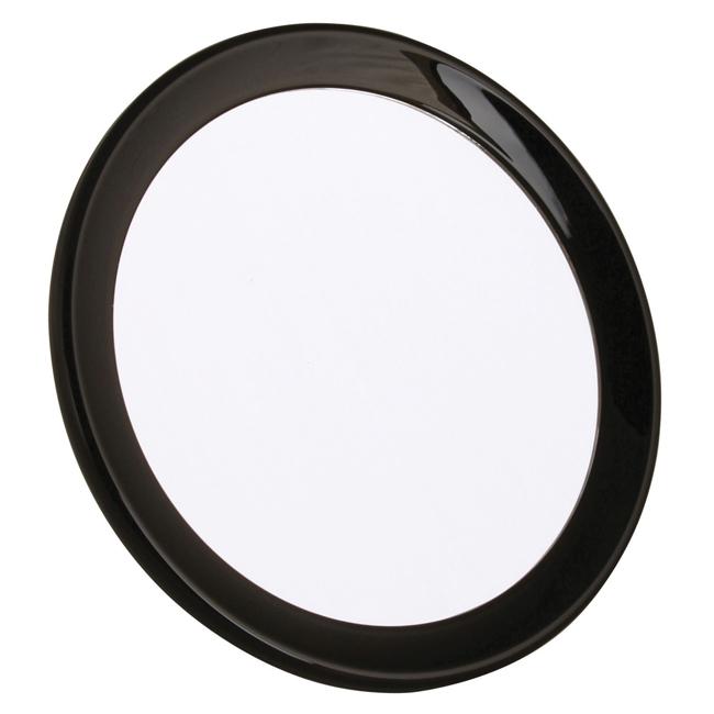 5803 18 Blk front - Travel Mirror 5x Magnification - 5803/18BLK