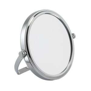 702 10c 1 300x300 - 7x Magnification Chrome Travel Mirror - 702/10CHR