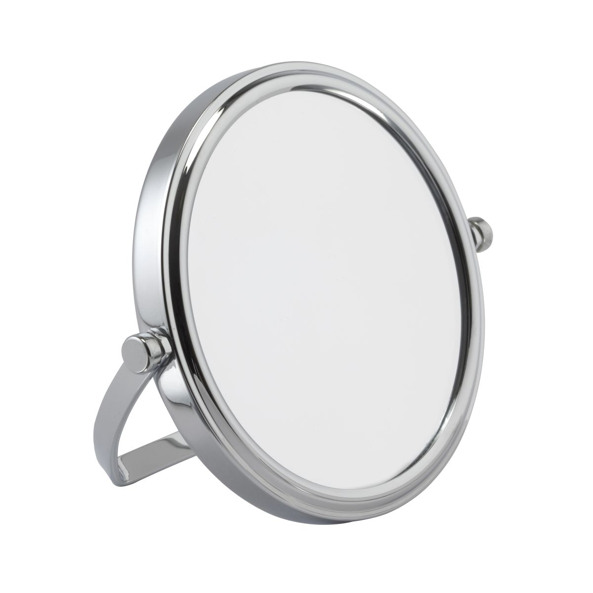 702 10c 1 - 7x Magnification Chrome Travel Mirror - 702/10CHR