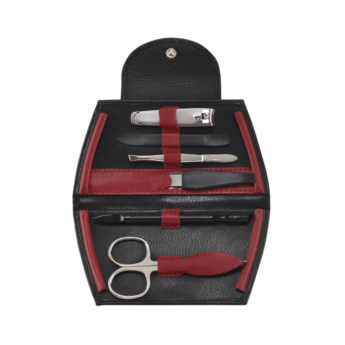 73043 red 1 - Luxurious German Manicure with Precision Solingen Implements - 73043B/RED