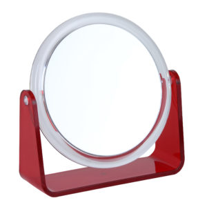 818 red OH 14 13D 5x 300x300 - 5x Magnification Mirror Red - 818RED