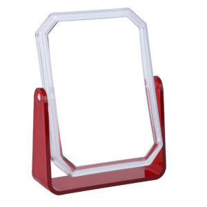 821 red OH 19.5 W11 H15.5 300x300 - 5x Magnification Mirror In Red - 821RED