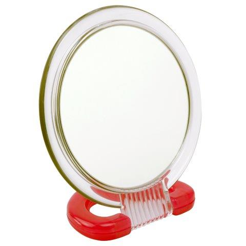 3x Magnification Mirror In Red - 915RED