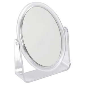 916 c 1 300x300 - Clear 3x Magnification Perspex Mirror - 916C